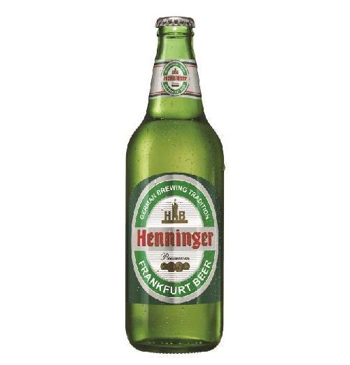 """בירה בקבוק הנינגר זכוכית 500 מ""""ל ארגז 20 יח'"""