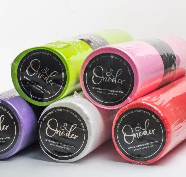 גלילי אלבד למיטת טיפולים במגוון צבעים