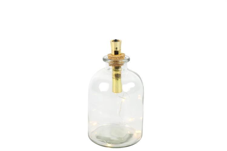 בקבוק מאיר שקוף