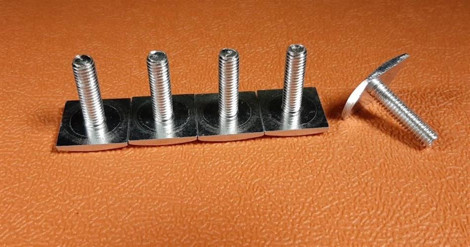ברגים ראש מרובע שטוח מותאמים לגגון לרכב מיוחדים להשחלה
