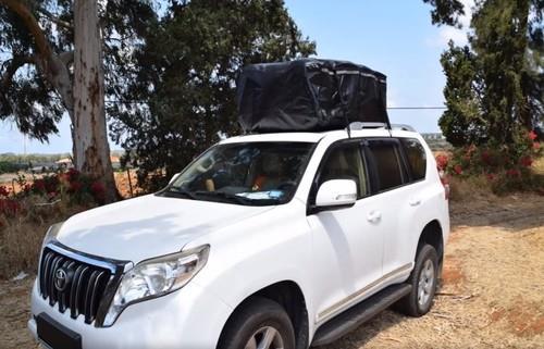תיק נשיאה לגג הרכב - 490 ליטר