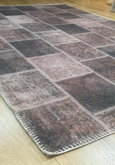 שטיח מודפס בורדו