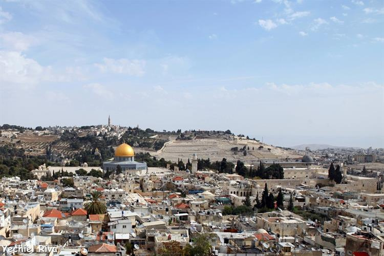 Support Israel and get this picture: The old city, Jerusalem