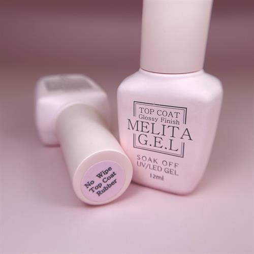 MELITA No Wipe Top Coat Rubber (טופ סמיך ללא נטרול)