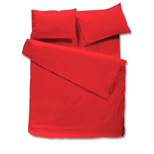 מצעים בתפזורת להרכבה 100% כותנה - אדום