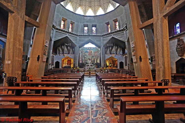 Support Israel and get this picture: Basilica of the Annunciation, Nazareth
