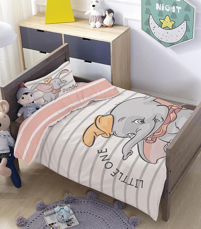 מותגים למיטת מעבר \ תינוק - דמבו 100% כותנה