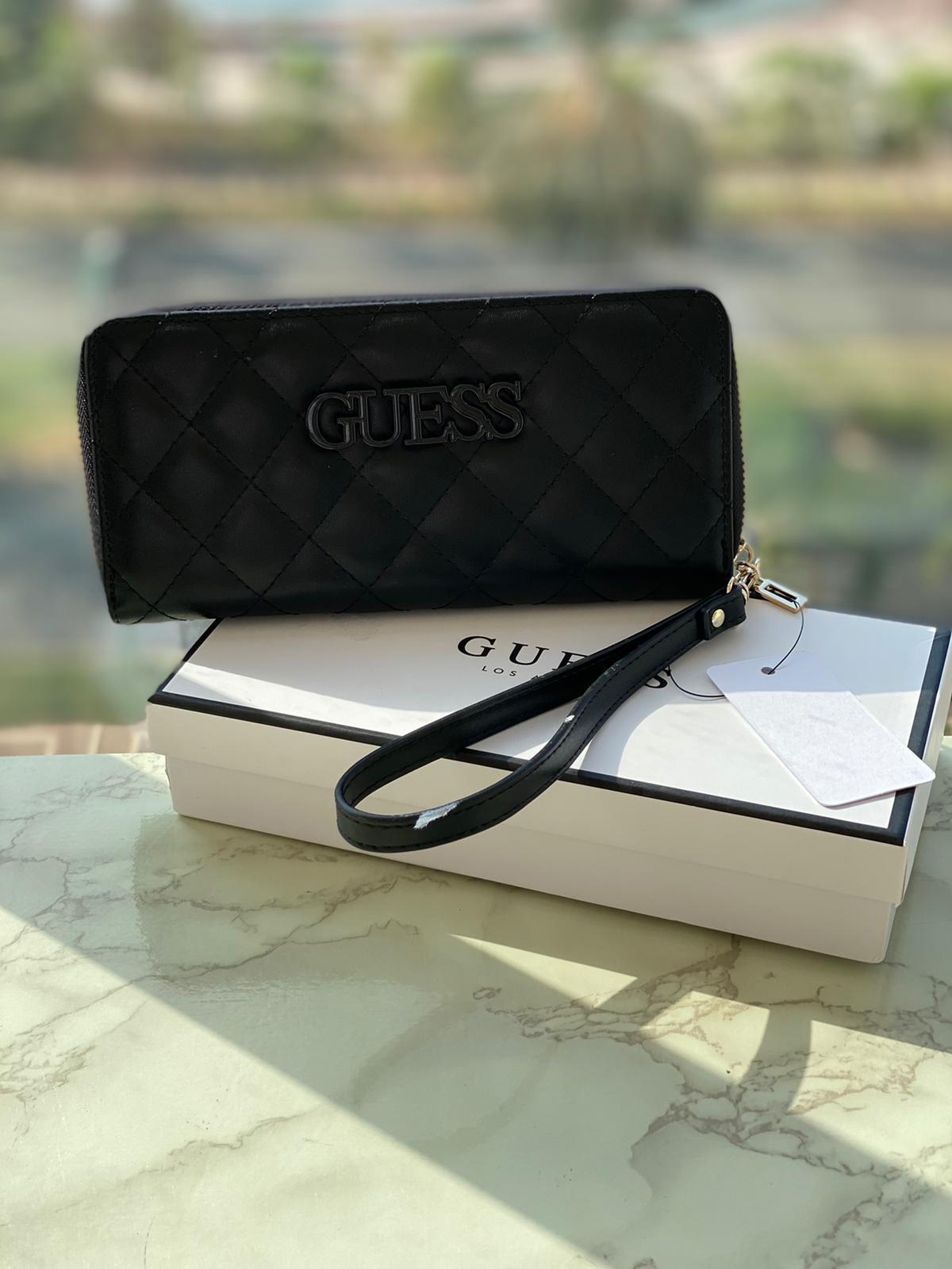 ארנק גס בינוני שחור כולל קופסא