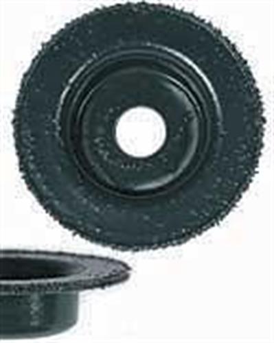 """2""""tungsten carbide flat abrasive v disc course-green"""
