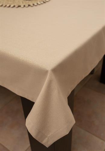 מפת שולחן יוקרתית מנצנצת גלוסי - אבן זהב