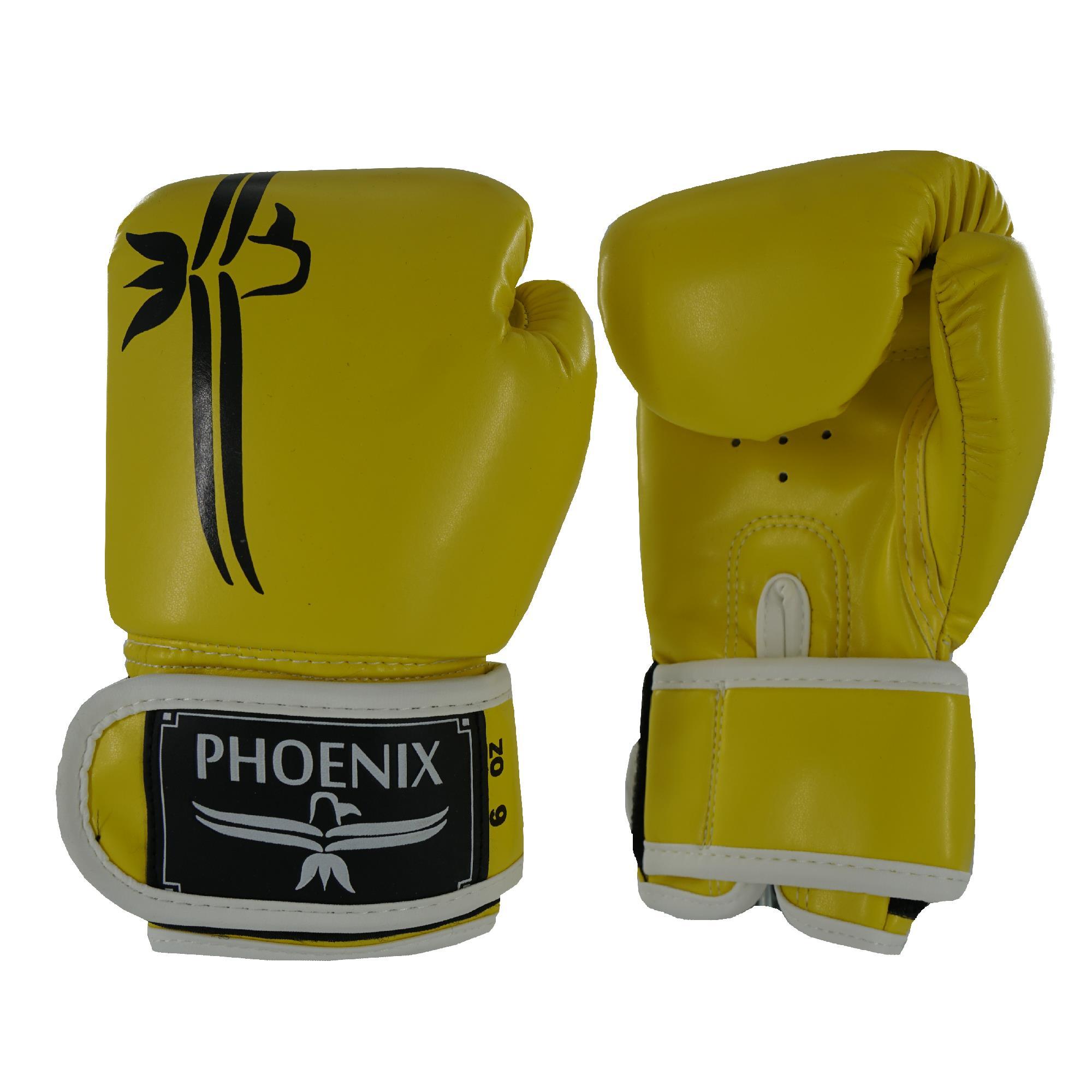 כפפות אגרוף PHOENIX KIDS 4-6oz צהוב