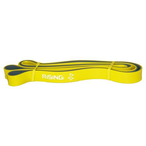 """גומיית כושר סגורה צהוב/אפור 22 מ""""מ RISING PRO resistant loop band"""