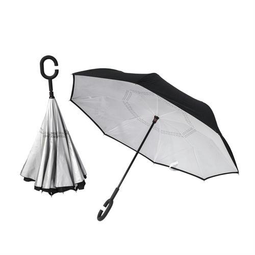מטריה מתהפכת ממותגת