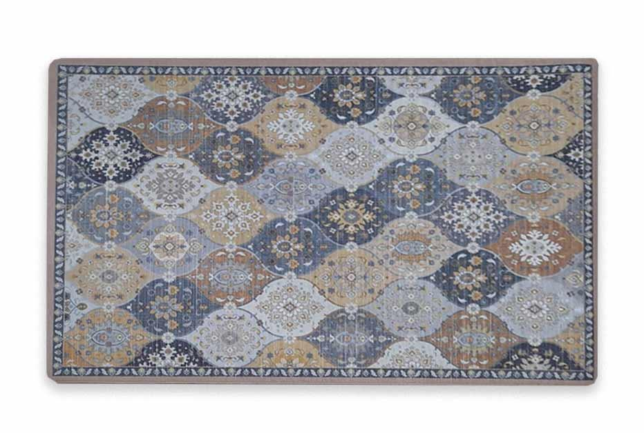 שטיח מטבח איכותי בתוספת גומי בתחתית דגם - 27 (מתנקה בקלות!)