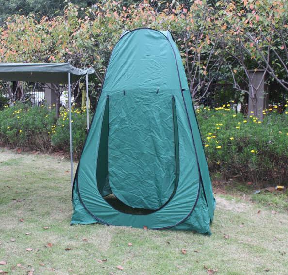 אוהל תא שירותים מקלחת הנקה הלבשה  לשטח לבית ולכל מקום