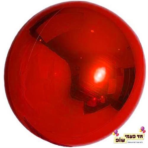 בלון עגול 24 אינץ' אדום (ללא הליום)