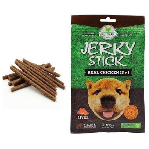 חטיף לכלבים ג'רקי מקלות כבד 80 גרם