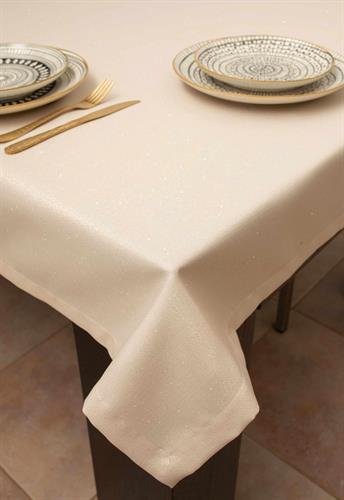 מפת שולחן יוקרתית מנצנצת אודרי - אבן כסף