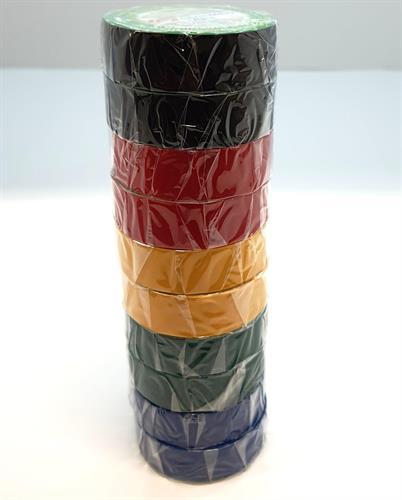 איזולירבנד צבעוני 10 יחידות