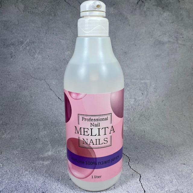 ליטר אציטון 100% בקבוק משאבה