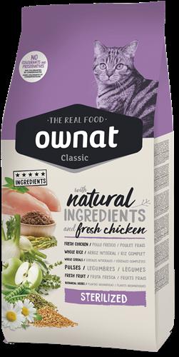 """אוונט OWNT קלאסיק סטרלייזד אוכל לחתולים מסורסים/מעוקרות 4 ק""""ג"""