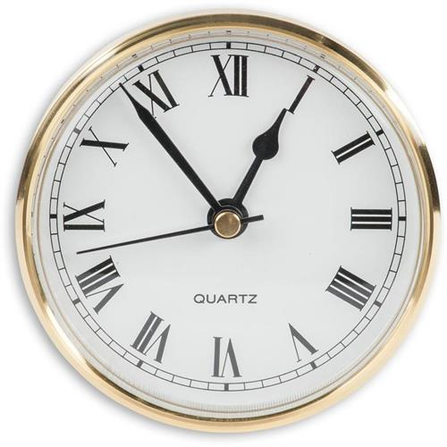 שעון קוטר 80 ממ מסגרת פליז