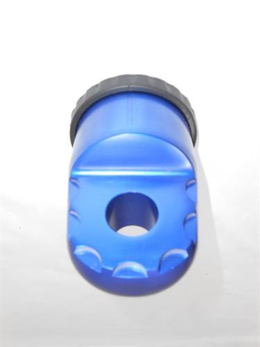 חיבור אלומיניום מודרני ואופנתי בין שאקל לכבל סינטטי עבור כננת צבע כחול