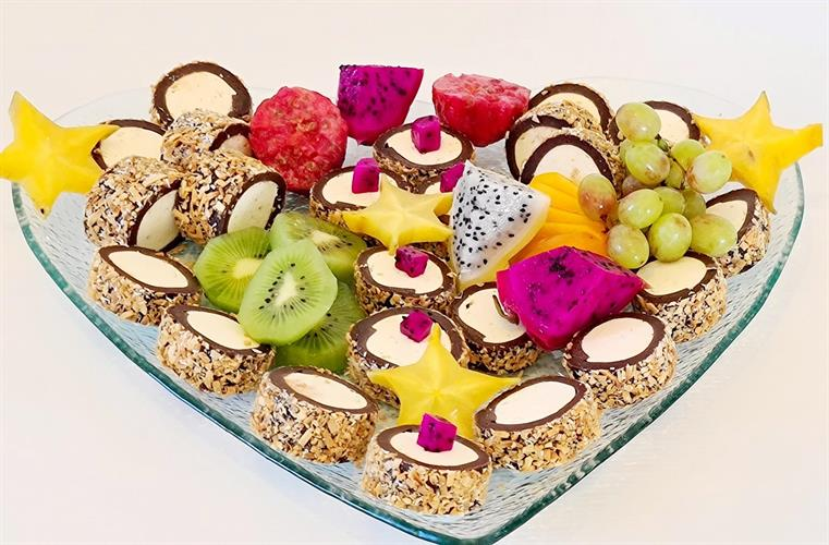 Love chocolate sushi - סושי לב שוקולד