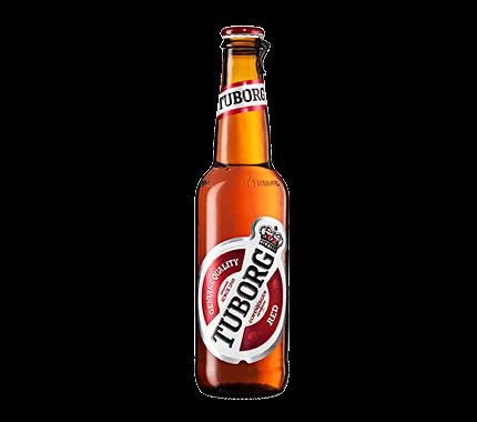 """בירה טובורג אדום 500 מ""""ל. חוזר (כולל פיקדון ) ארגז 1/20"""