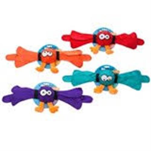 Ckoockoo קצר צעצוע מצפצף  לכלב צבע כתום
