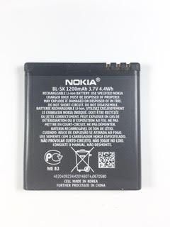 בטריה NOKIA BL-5K 1200mAh/3.7V/4.4Wh