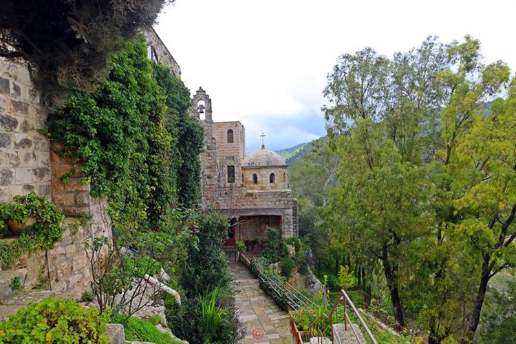Support Israel and get this picture: Monastery of Saint John in the Wilderness