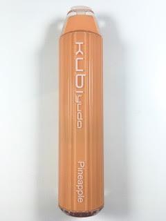 סיגריה אלקטרונית חד פעמית כ 2800 שאיפות Kubi yuda Disposable 20mg בטעם אננס Pineapple