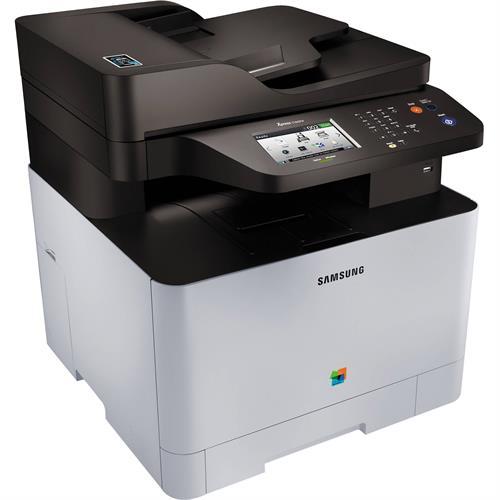 מדפסת לייזר צבעונית אלחוטית משולבת Samsung Xpress SL-C1860FW