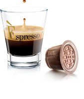 12 מארזים [120 קפסולות 1.2₪ ליח'] קפה אספרסוARABICA [זהב]בניחוח ערבי(תואמות Nespresso)
