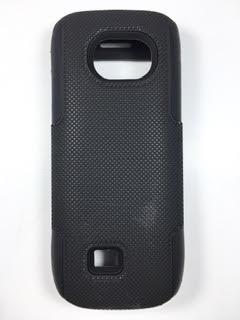 מגן קומבו כפול לנוקיה NOKIA C2 בצבע שחור