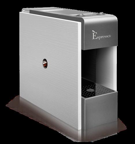 משלוח חינם - מכונת קפה אספרסו (צבע לבן) TRE Espresso תוצרת איטליה עם 30 קפסולות מתנה!