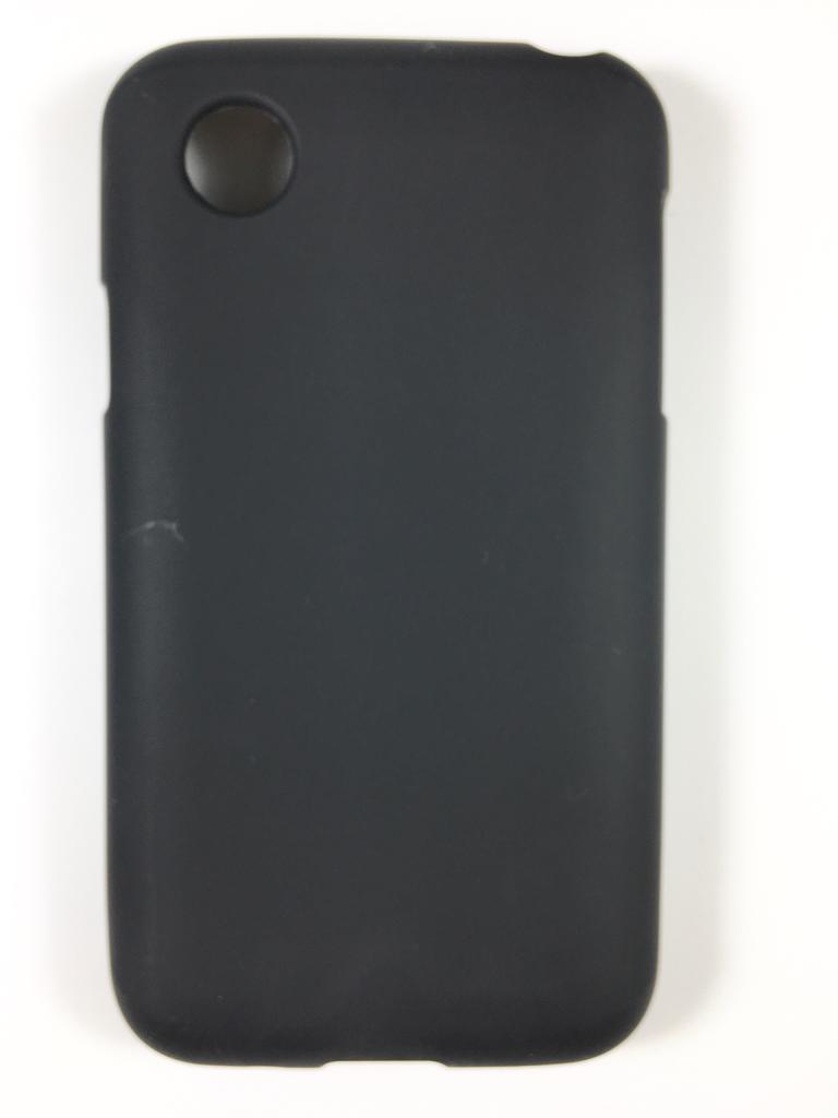 מגן סיליקון לlg l40 בצבע שחור