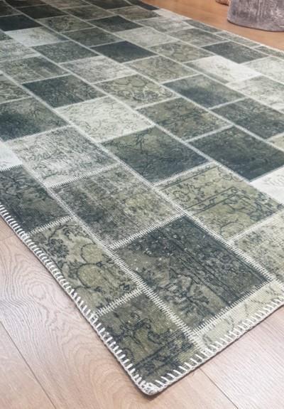 שטיח מודפס ירוק
