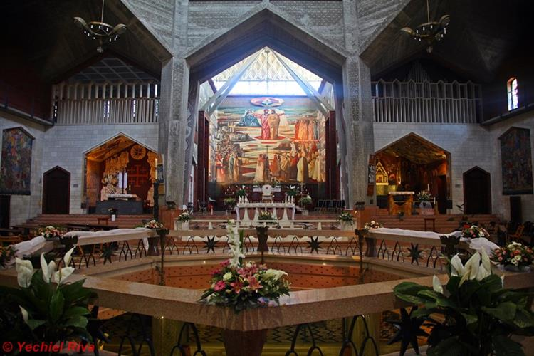 Support Israel and get this picture: Basilica of the Annunciation