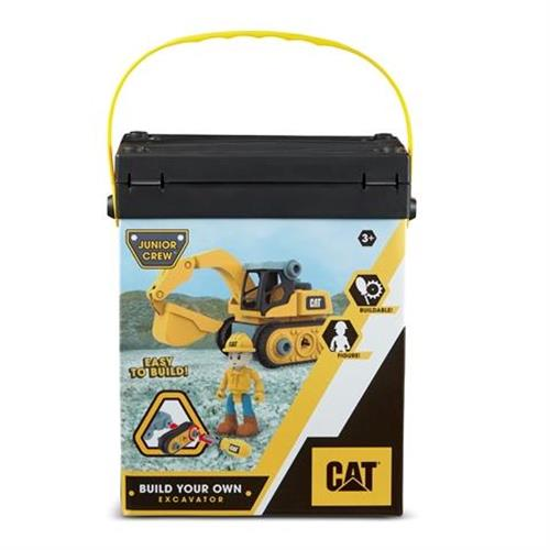 סט בניית טרקטור CAT