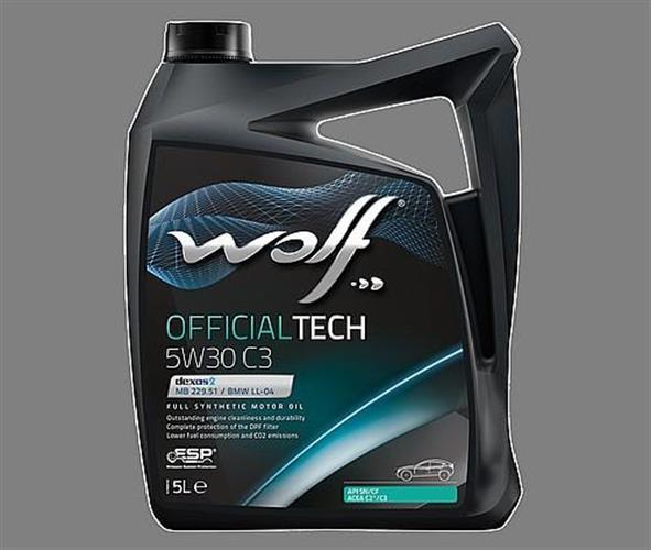 שמן מנוע 5 ליטר WOLF 5W30 C3