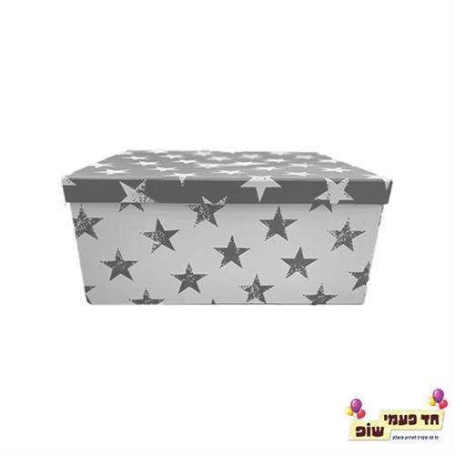 קופסא כוכבים כסף מידה 5