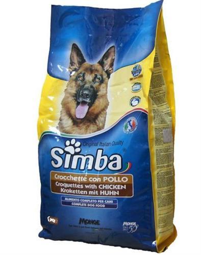 סימבה לכלב 20 קג עוף