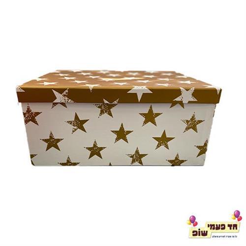 קופסא כוכבים זהב מידה 7