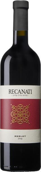 יין רקנאטי מרלו גליל עליון
