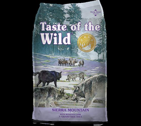 """074198610983 מזון יבש לכלבים בטעם כבש 12.2 ק""""ג Taste Of The Wild"""