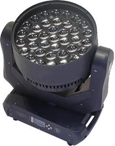 פנס ממונע LED MOVING WASH 37 RGBW ZOOM