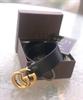 חגורת גוצ'י בינונית- אבזם זהב ( ללא אריזה )