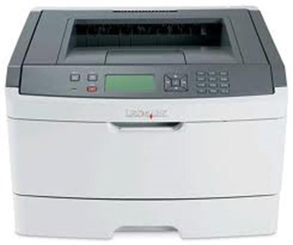 מדפסת לייזר אלחוטית Lexmark E-460wd